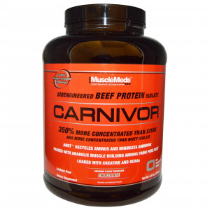 Carnivor,  Beef Protein , Chocolate, 4.6 lbs (2038 g