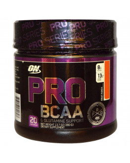 Pro BCAA& Glutamine, Fruit Punch, 13.7 oz 390 g