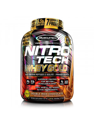 nitrotech whey gold - 5.5 LBS - نيترو تيك وي جولد 5.5 باوند - 76 جرعه