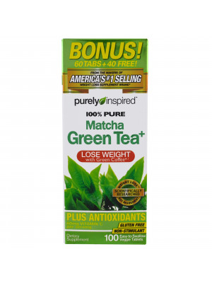 Purely Inspired, Pure Matcha Green Tea , 100 Tablets