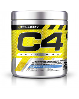 C4, Pre-Workout, 858 lbs,  390 g سي فور - 60 سكوب