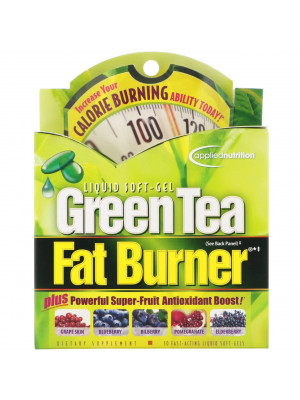 appliednutrition, Green Tea Fat Burner، 30 caps - حبوب الشاهي الاخضر