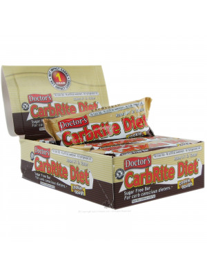 CarbRite Diet Bar, Sugar-Free, Toasted Coconut, 12 Bars
