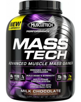 Mass-Tech-Milk - 7lbs- 3.18kg  ماس تيك - 7 باوند